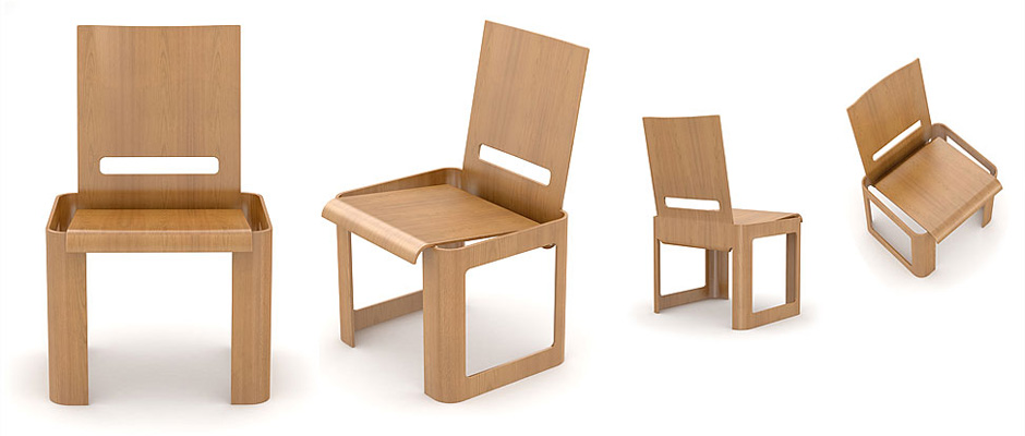 Design Of A Plywood Chair