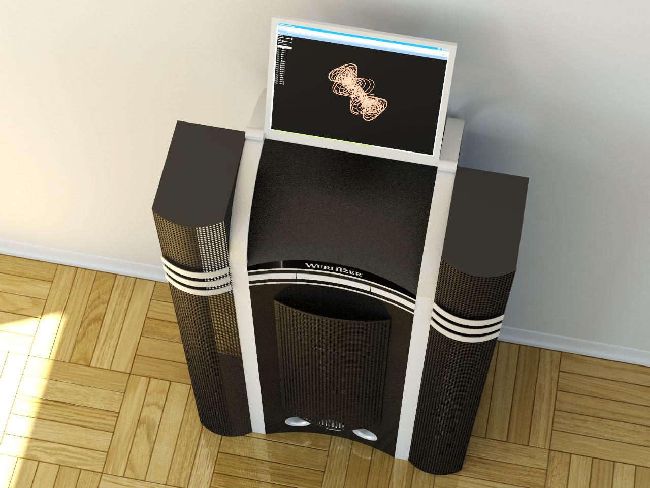 produktdesign f r unterhaltungselektronik projekt audio terminal. Black Bedroom Furniture Sets. Home Design Ideas