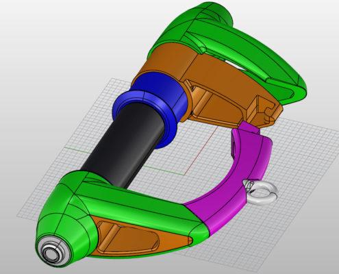 3D CAD Konstruktion