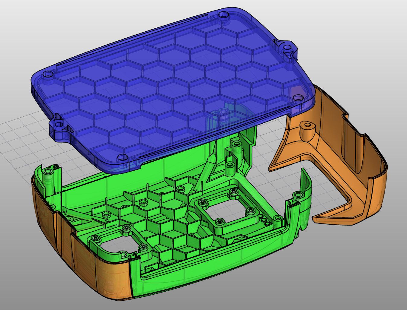 Rhino 3D CAD Konstruktion